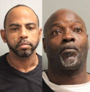 "Morgan Dewayne ""Crime"" Lavalais Jr. (left) and Tony D. Allen"