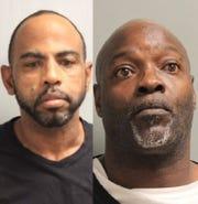 """Morgan Dewayne""""Crime"""" Lavalais Jr. (left) and Tony D. Allen"""
