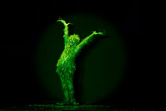 """Gavin Lee as The Grinch in """"The Grinch Who Stole Christmas."""""""