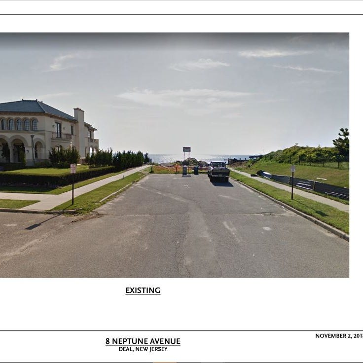This is how Neptune Avenue looks now, in plans...