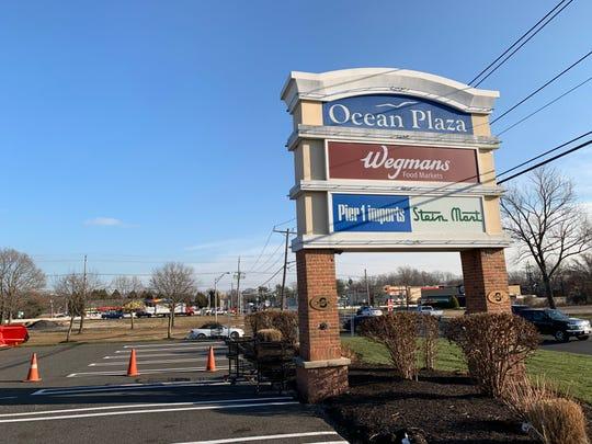 Ocean Plaza is on Route 35 in Ocean.