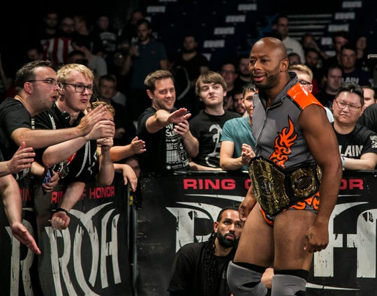 Ring of Honor star Jay Lethal is a native of Elizabeth.