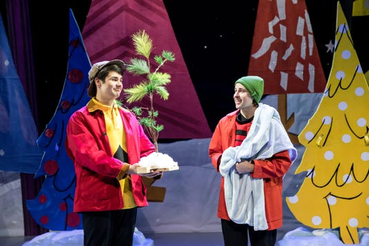 A Charlie Brown Christmas Live On Stage With Little Tree