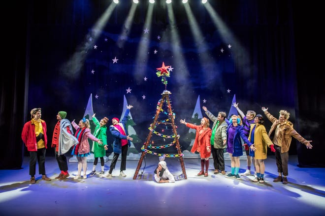 """Charlie Brown ends up a hero because he stuck to his beliefs in """"A Charlie Brown Christmas,"""" which will be performed at the Abilene Convention Center on Wednesday."""