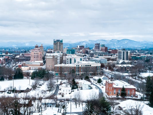 Asheville Winter Storm 2018 Full 1