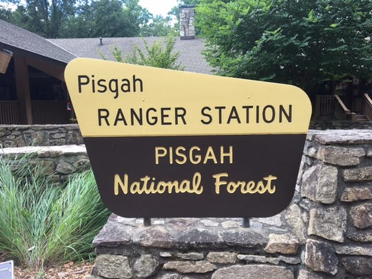 The Pisgah Ranger Station is closed until at least Thursday due to dangerous road conditions and a power outage.