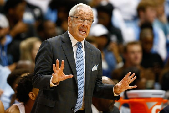 UNC coach Roy Williams has a team that can run the court and will present a real challenge to Louisville.