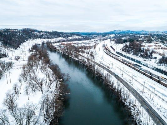 Asheville Winter Storm 2018 Full 3