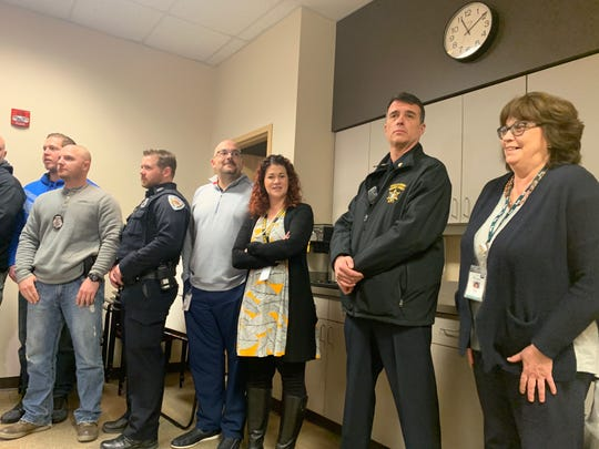 Substance abuse treatment professionals, law enforcement, and county officials attended a press conference Tuesday when it was announced Broome County will receive funds to continue to combat the opioid epidemic.