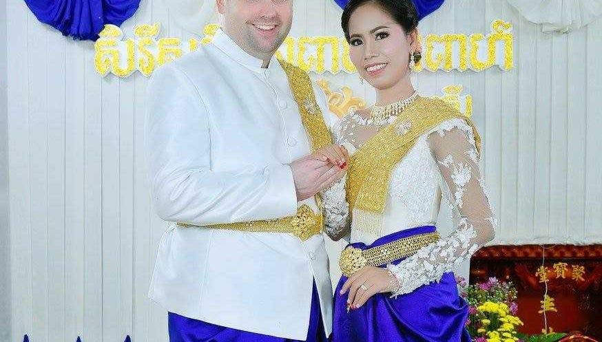Bob Lampton and his wife, Sing Leakhena