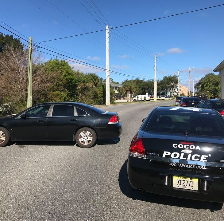 Cocoa police say 54-year-old man wounded in officer-involved shooting