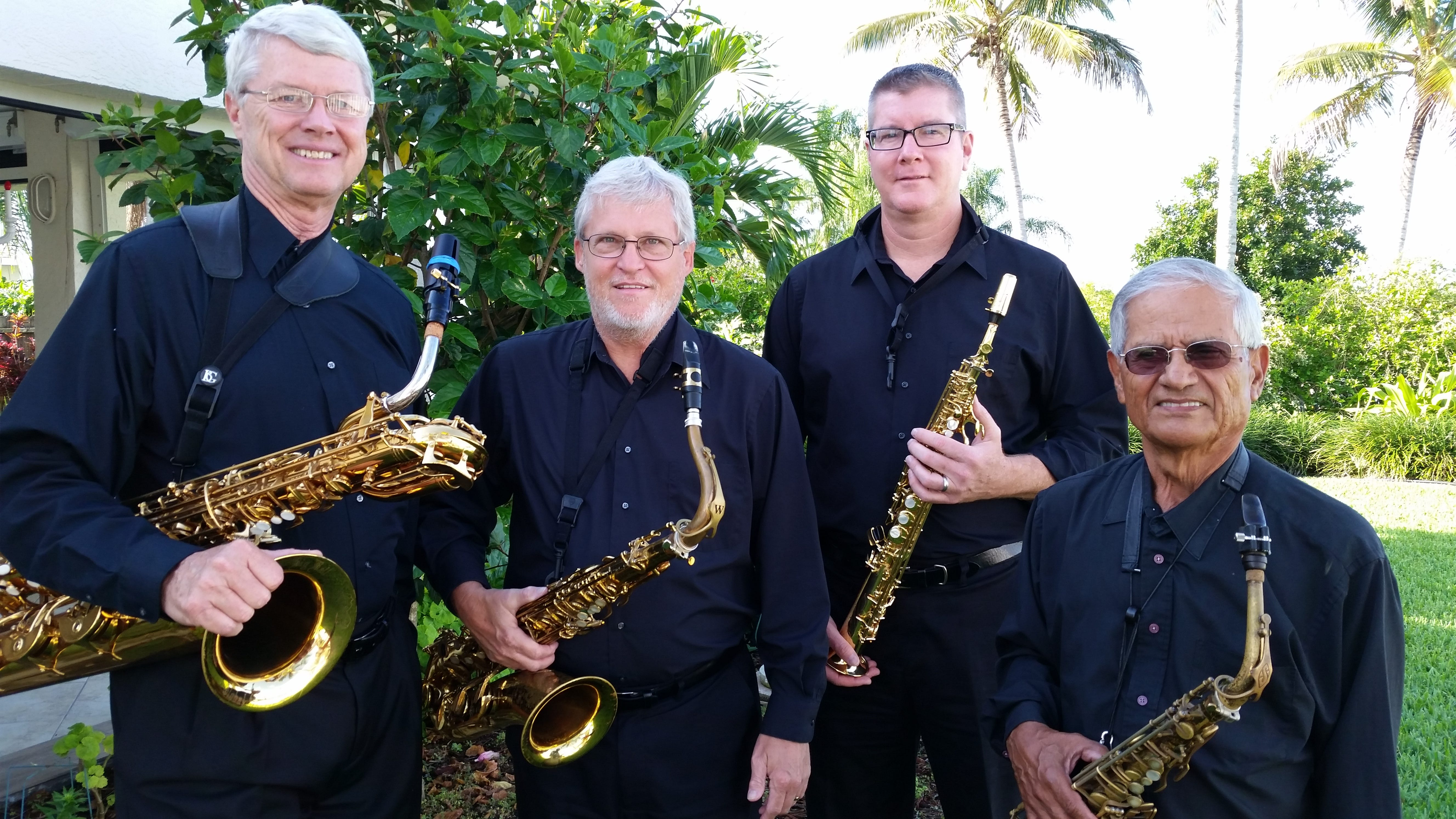 The boys of the Adagio Sax Quartet, (from...