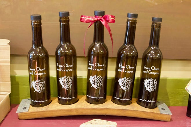 From Olives and Grapes gift sets, available at the Melbourne and Cocoa Village stores, start at $20.