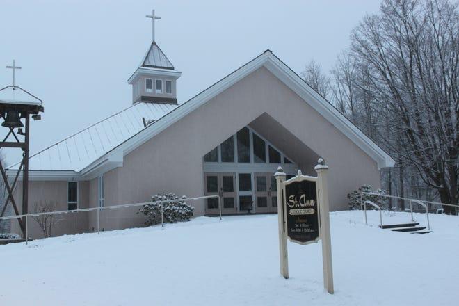 St. Ann Catholic Church in Milton, as seen in February 2012.