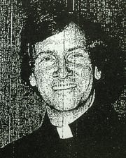 A mimeographed copy of an undated mug shot of former priest Alfred Willis.  A former altar boy at St. Ann Catholic Church filed a lawsuit on Dec. 7, 2018, alleging that the Roman Catholic Diocese of Burlington failed to protect him from sexual abuse by Willis in the late 1970s and early 1980s.