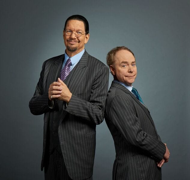 Penn & Teller bring the laughs and the magic to Hard Rock casino in Atlantic City.