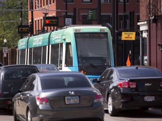 Cincinnati's long-awaited traffic study was released on Tuesday.
