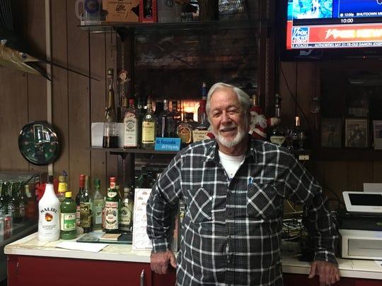 Elmer Ferguson, owner of the Old Timber Inn