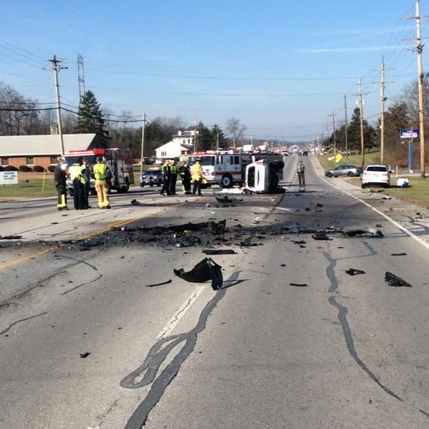 Two dead in Batavia Township crash