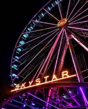 A shot of the Skystar Observation Wheel at The Banks by Cin Williams.