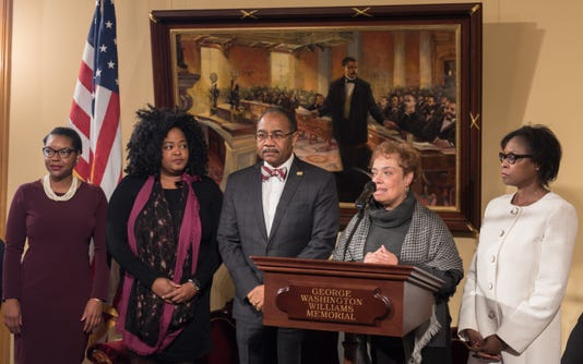 Ohio African-American Study press conference