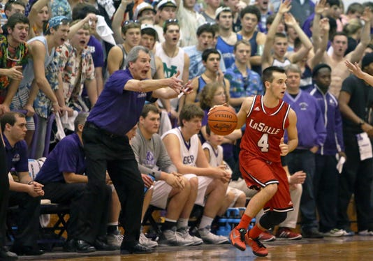 Lasalle At Elder Boys Basketball