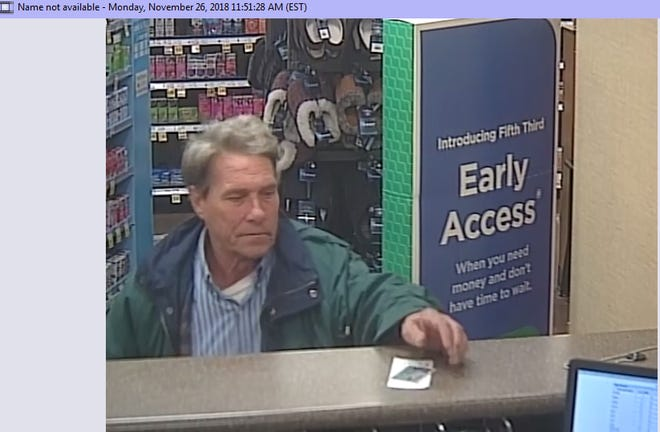Milford Police need your help in identifying this man. Police say he used fraudulent information to withdraw money from bank accounts.