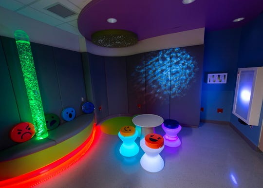 Ready for the youngest patients, the new 24-hour Pediatric Emergency Department at Robert Wood Johnson University Hospital New Brunswick, an RWJBarnabas Health facility, opened its doors at 7 a.m Tuesday. The new space includes a sensory room designed with patients who have special needs in mind.