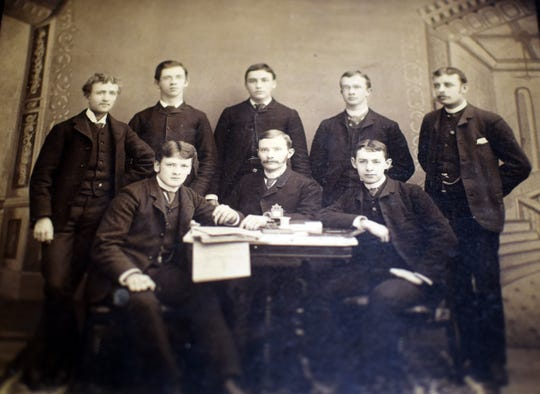 The Daily Targum in the 1880s.
