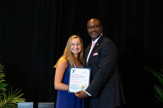 Bernardsville teen honored for excellence in volunteering