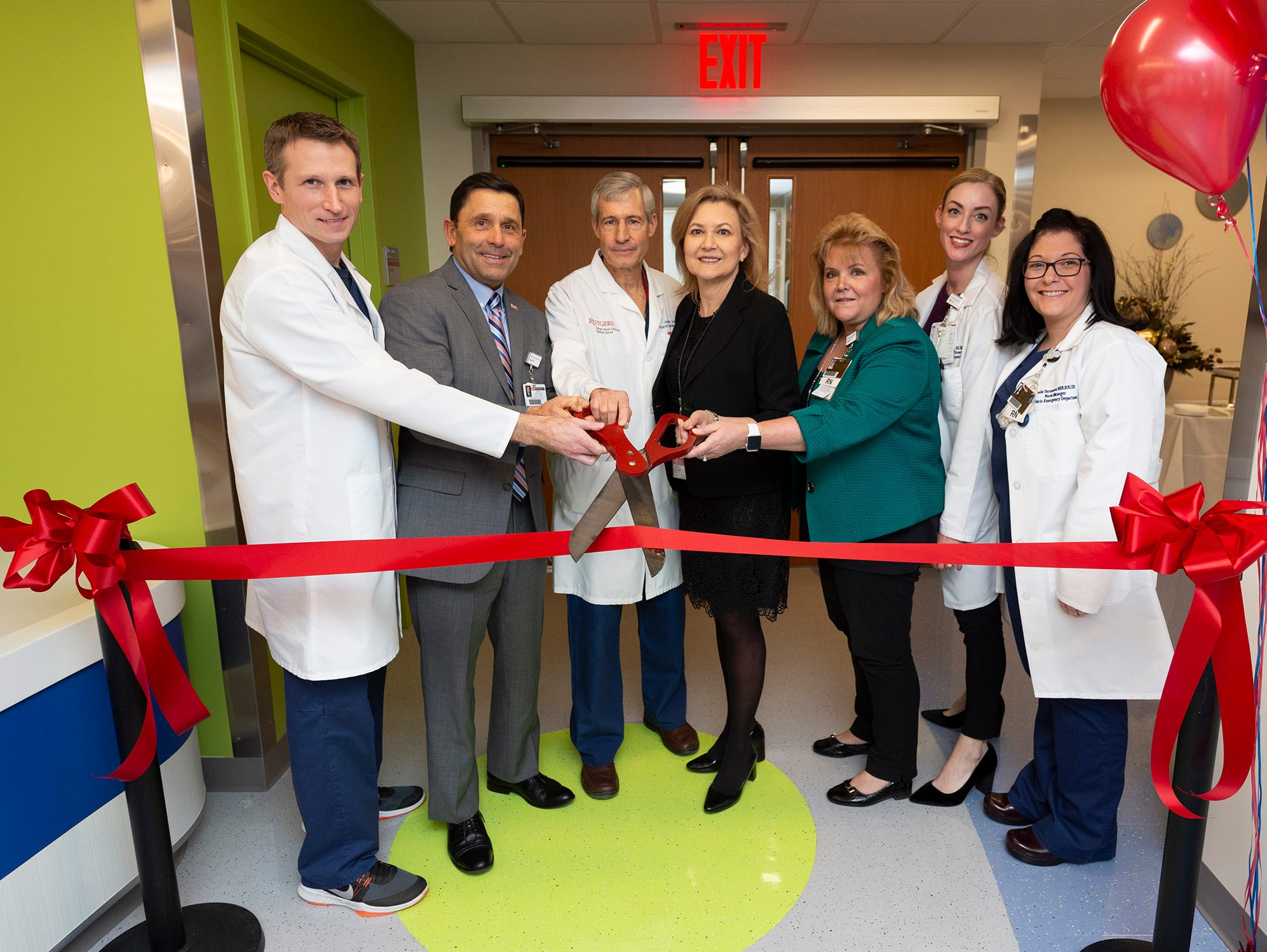 Ready for the youngest patients, the new 24-hour Pediatric Emergency Department at Robert Wood Johnson University Hospital New Brunswick, an RWJBarnabas Health facility, opened its doors at 7 a.m Tuesday.