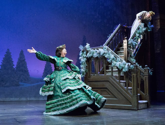 McCarter Theatrein Princeton willwelcome'A Christmas Carol' through Dec.29, whichtells the famous tale of how Ebenezer Scroogequickly learns the true meaning of generosity of Christmas.
