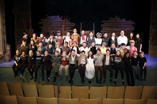 "The Pingry School's Drama and Music Departments presented ""Peter and the Starcatcher"" in November. Front row: Diana Severineanu of Nutley, Josie Alston of Bridgewater, Ashleigh Provoost of Bernardsville, Luca Pizzale of Bernardsville), Grace Brown of Westfield, Callie Mahoney of Basking Ridge, Francesca Rainuzzo of Livingston, Josh Thau of Bound Brook, Andrew Cowen of New Vernon, Katerina Deliargyris of Basking Ridge, Jonathan Marsico of Lake Hopatcong, Nicholas Grimaldi of Scotch Plains, Mary Kovacs of Bridgewater, Udochi Emeghara of Hillside, Helen Ma of Stirling, and Evan Berger of Hillsborough: Middle row: Lleyton Lance of Summit, Sonia Talarek of Far Hills, Anna Stowe of Flemington, Natalie DeVito of South Plainfield, Cordelia Ludden of Summit, Nina Srikanth of Bridgewater, Aashiya Jaggi of Warren, Adelaide Lance of Summit, Helen Baeck-Hubloux of Morris Township, Grace Barral of Bernardsville, Ainsley Ellison of Westfield, Lily Arrom of Warren, and Corbey Ellison of Westfield: Back row: Ryan Arrazcaeta of Basking Ridge, Sophia Lewis of Morristown, Brian Li of Warren, Sarah Gagliardi of Warren, Ram Doraswamy of Short Hills, Lydia Gargano of Westfield, Stuart Clark of Short Hills, Lucas Vazquez of Millington, Leo Zhu of Warren, Annaya Baynes of Plainfield, Alex Kaplan of Westfield, Alessia Zanobini of New Vernon, Jack Lyons of Lebanon, Ariel Li of Livingston, and Mia Shum of Morristown."