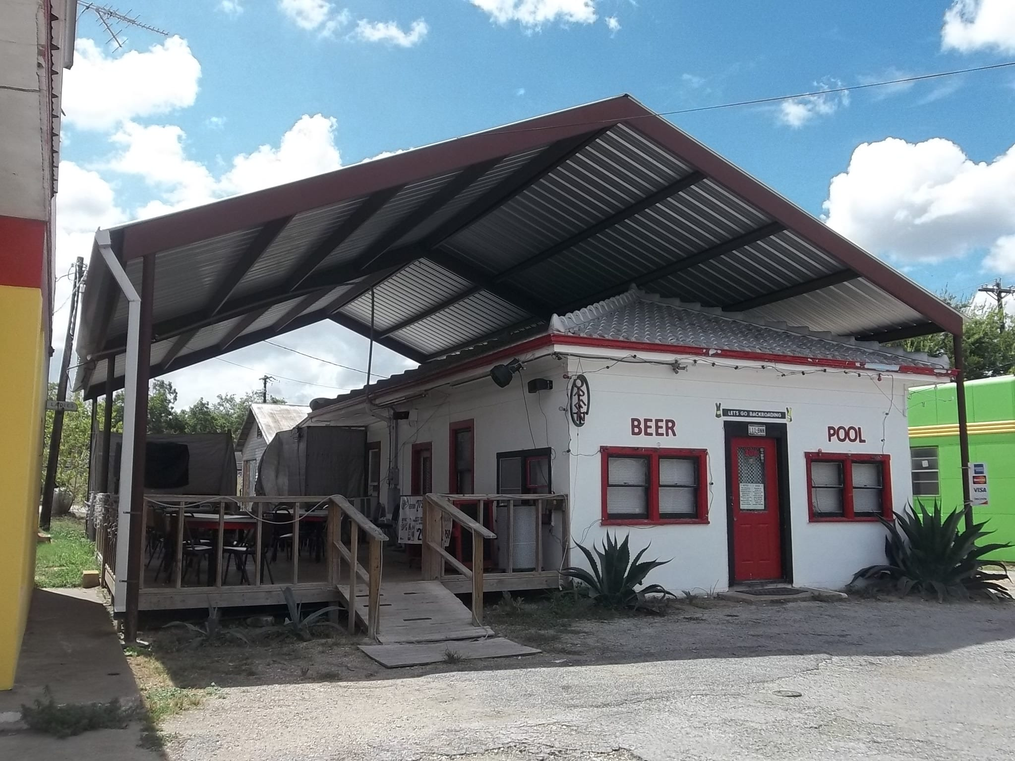 Tommy Tipton owns this commercial building at 306 E. North Main St. in Flatonia, Texas. Its market value is  $38,750.