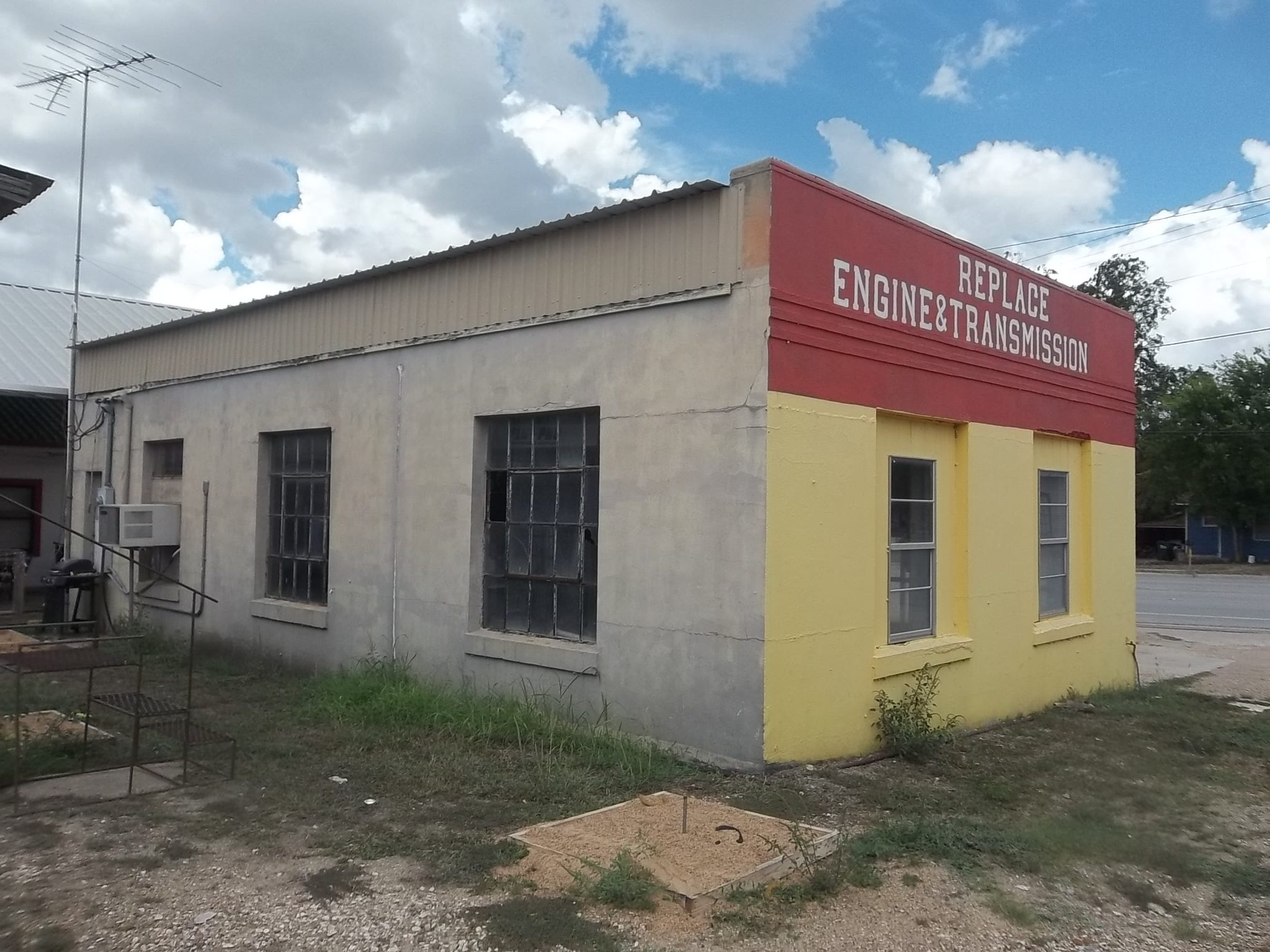 Tommy Tipton owns this commercial property at 312 N. Main St., in Flatonia, Texas.  It's market value is $49,580