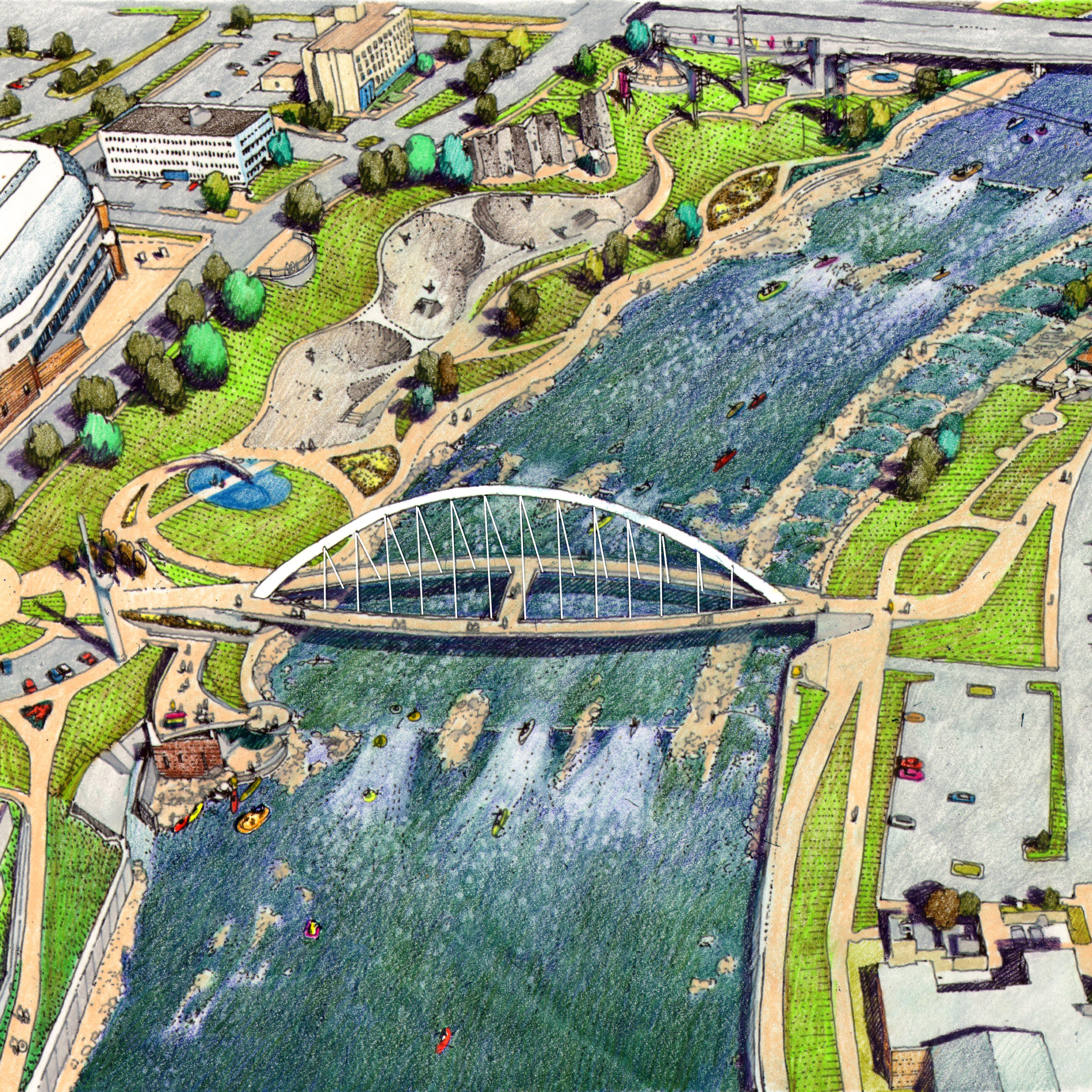 Prominent Des Moines executives join group to implement water trails plan