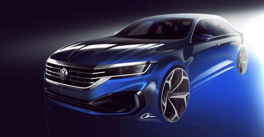 2020 Passat Keeps Volkswagen In The Midsize Sedan Market