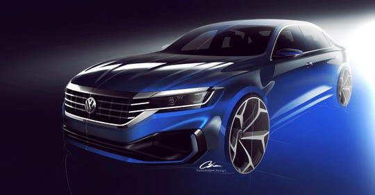 2020 VW Passat to debut at 2019 Detroit auto show