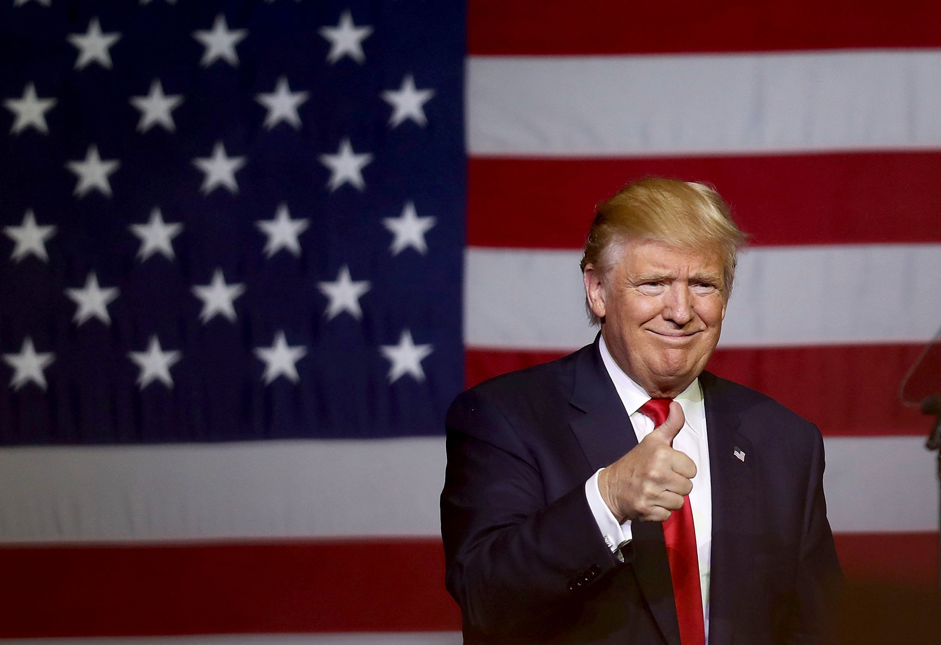 Trump Holds Campaign Event In West Palm Beach Florida
