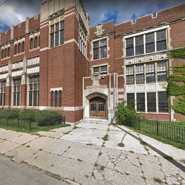 Vans shoes to transform old Detroit school for January pop-up