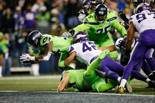 Defense Dominates As The Seahawks Beat Up On The Vikings 21 7