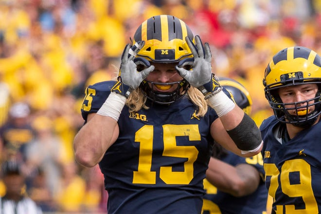 """Michigan defensive end Chase Winovich said recruits should not be """"fooled"""" by what happened against Ohio State on Nov. 24 as a reason to not go to Michigan."""