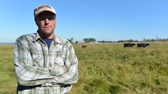 Michigan farmer Duane Kolpack