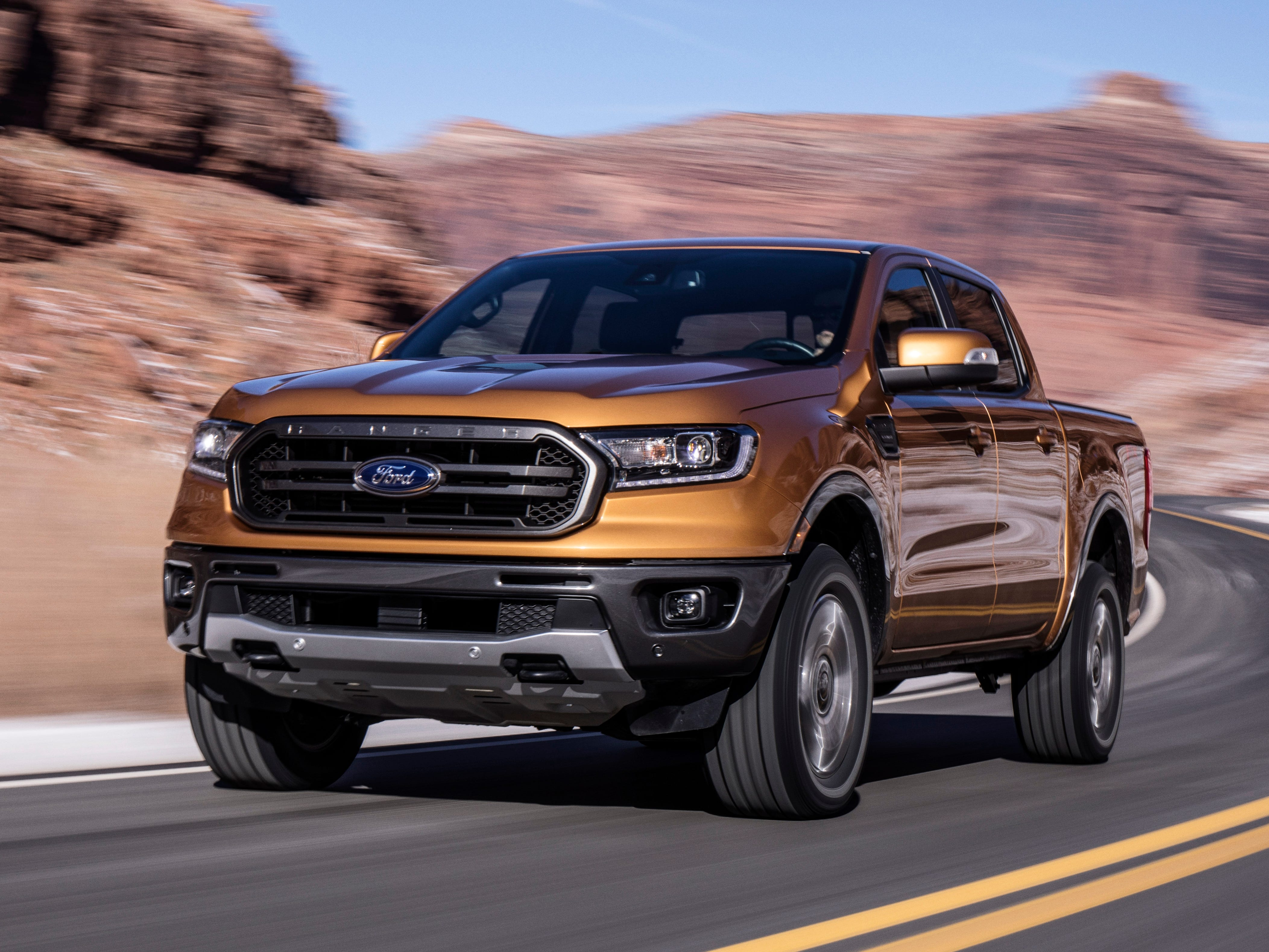 Ford: 2019 Ranger fuel economy to top class
