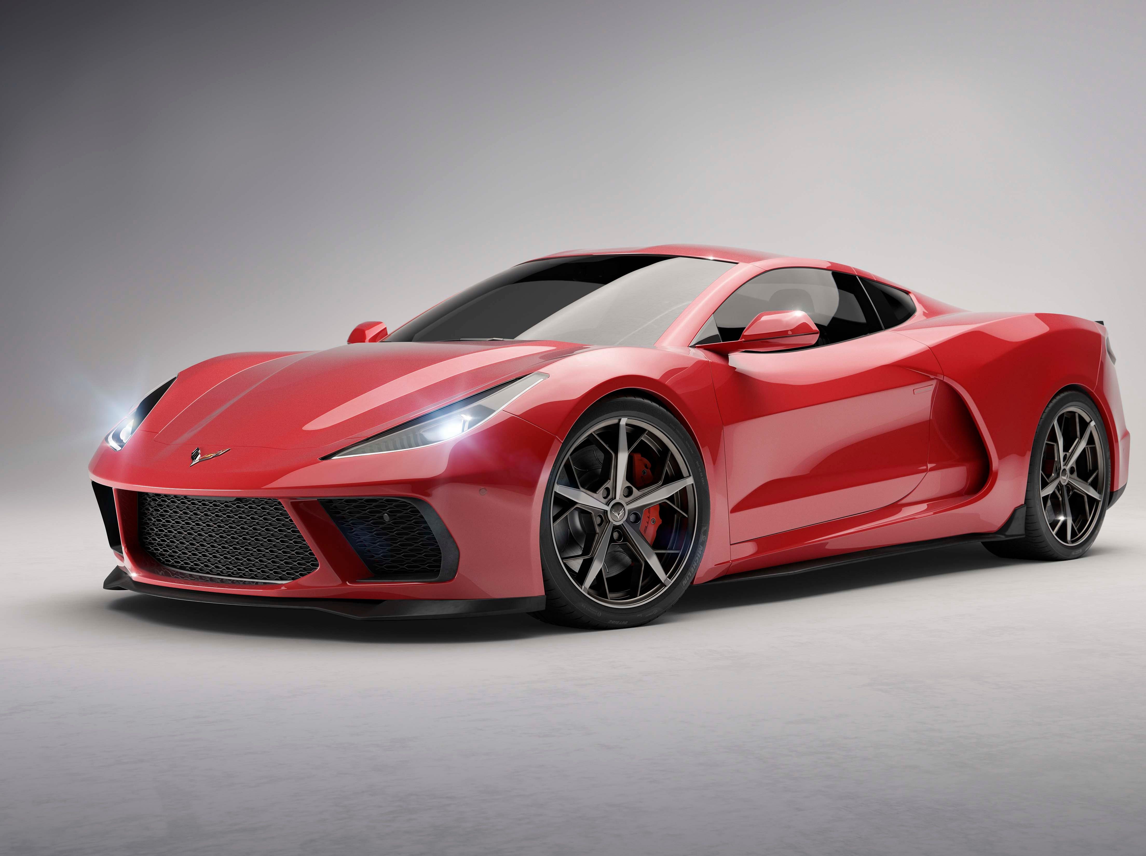 No mid-engine Corvette at Detroit auto show