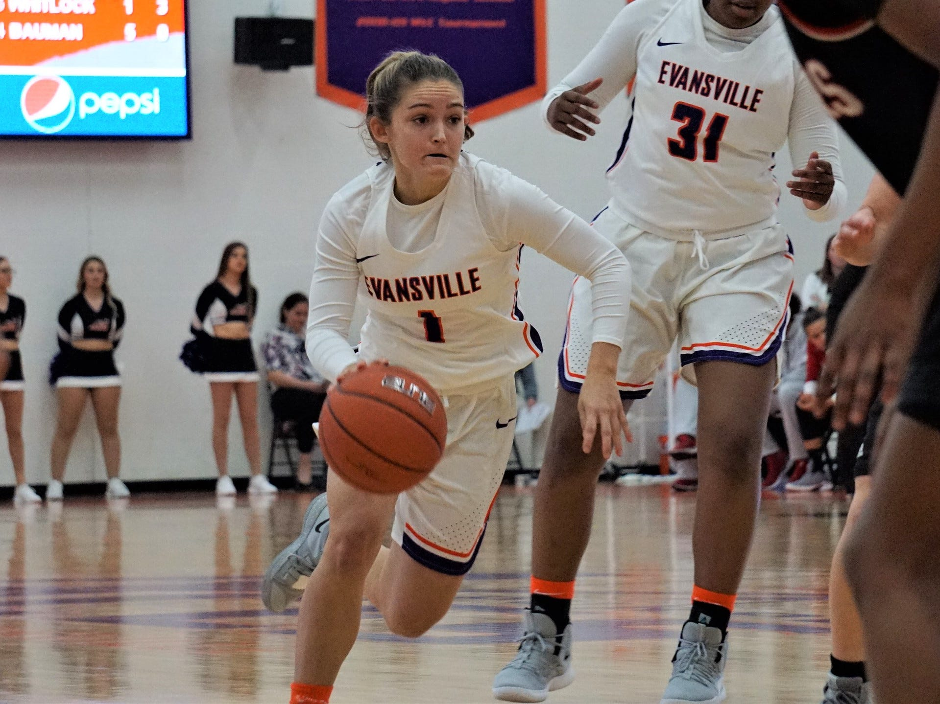 University of Evansville women's basketball freshman Anna Newman never wavered in her commitment to the Purple Aces.