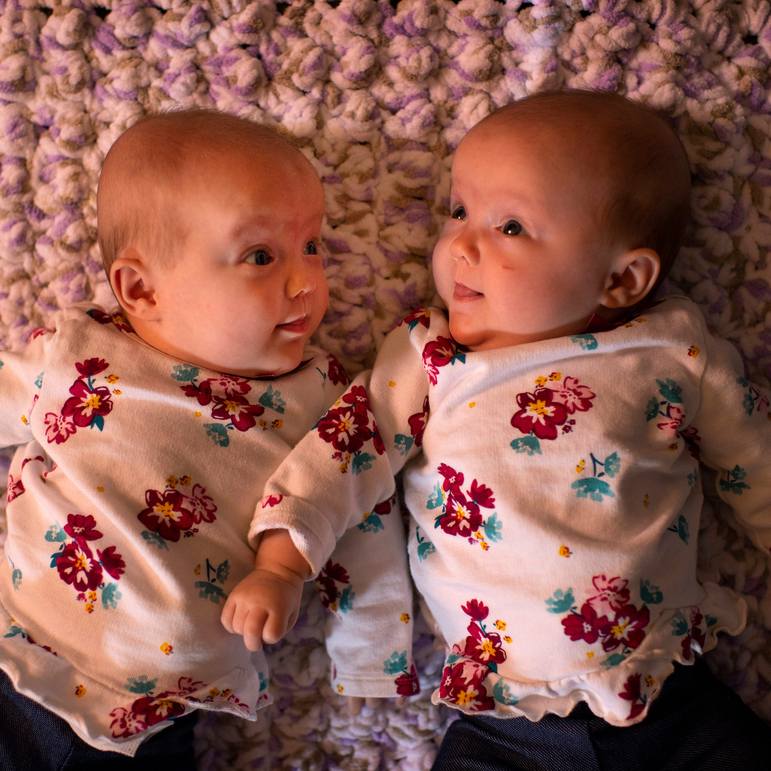 End of the rainbow: Newburgh family welcomes rare twins after journey of loss, hope