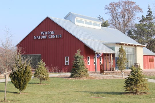 Wilson Nature Center, 720 S. Main St. sits against Muddy Creek in Lindsey.