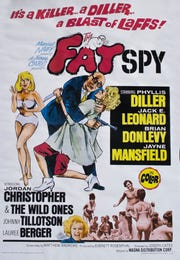 "This poster for the 1966 movie ""The Fat Spy"" hangs in the Cape Coral Historical Museum. The comedy was shot entirely in Cape Coral. Photo courtesy of the Cape Coral Historical Society and Museum"