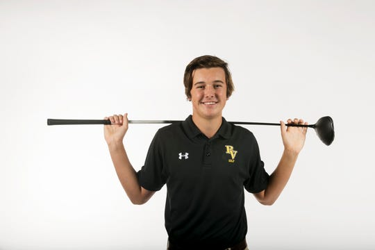 Reece Kyle, Bishop Verot, Golf, Fall All-Area athletes